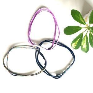 3 Onzie Double Strap Headbands